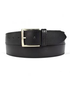 Cinturón piel lisa con...