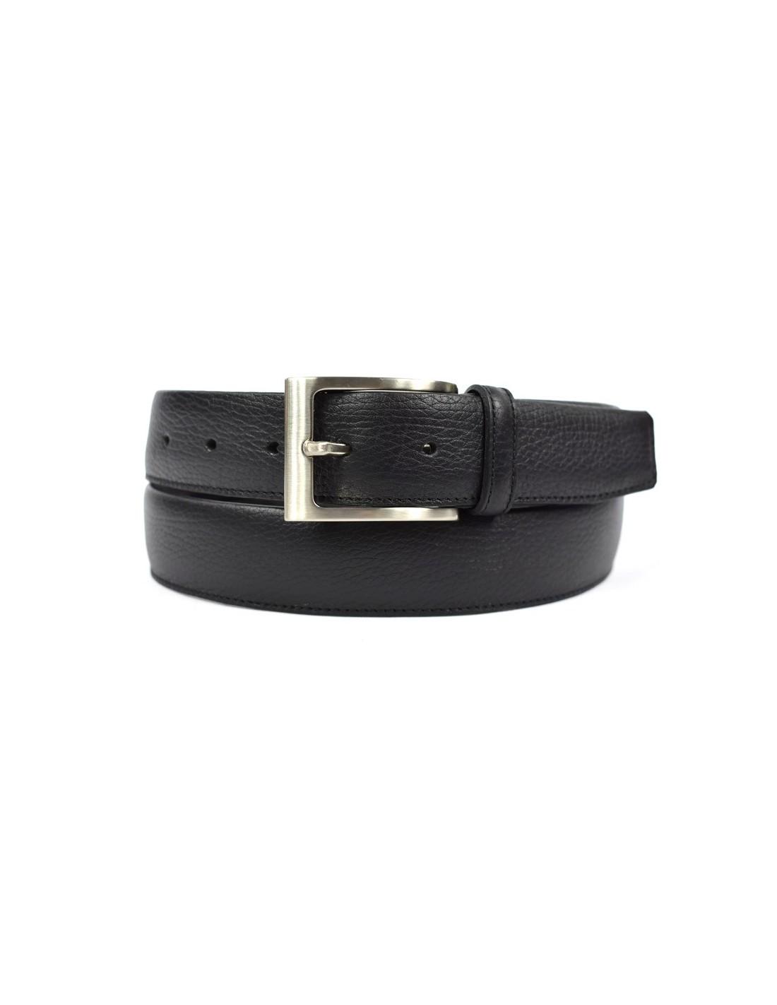 Cinturón de Hombre 34 mm, Tagar - de Piel con Cremallera para billetes