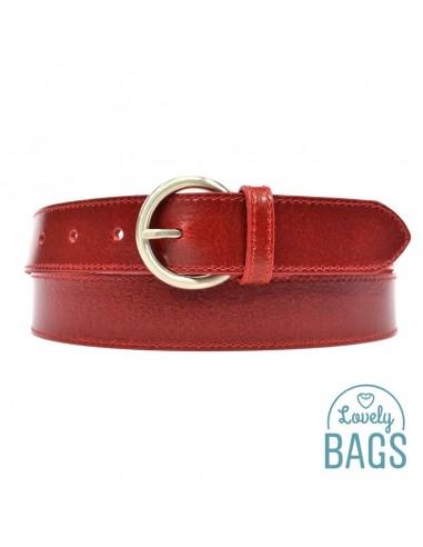 Cinturón 30 mm de Mujer, TAGAR - Piel...