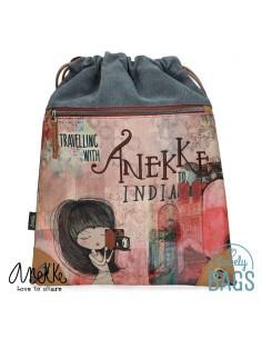 Mochila saco Anekke India -...