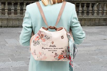 Bolso convertible en mochila mujer